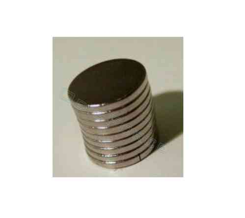 20 Rare Earth Magnets 8mm Diameter, 1mm thick