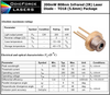 808nm 200mW Infrared Laser Diode (TO56 5.6mm)