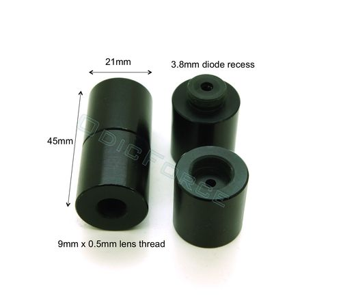 Diode Housing for 3.8mm Diode (21mm x 45mm)