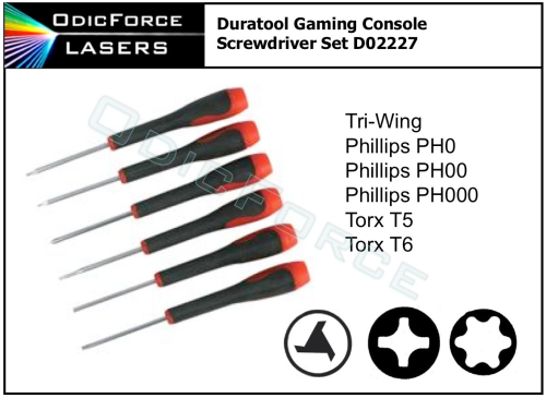 Duratool Gaming Console Screwdriver Set