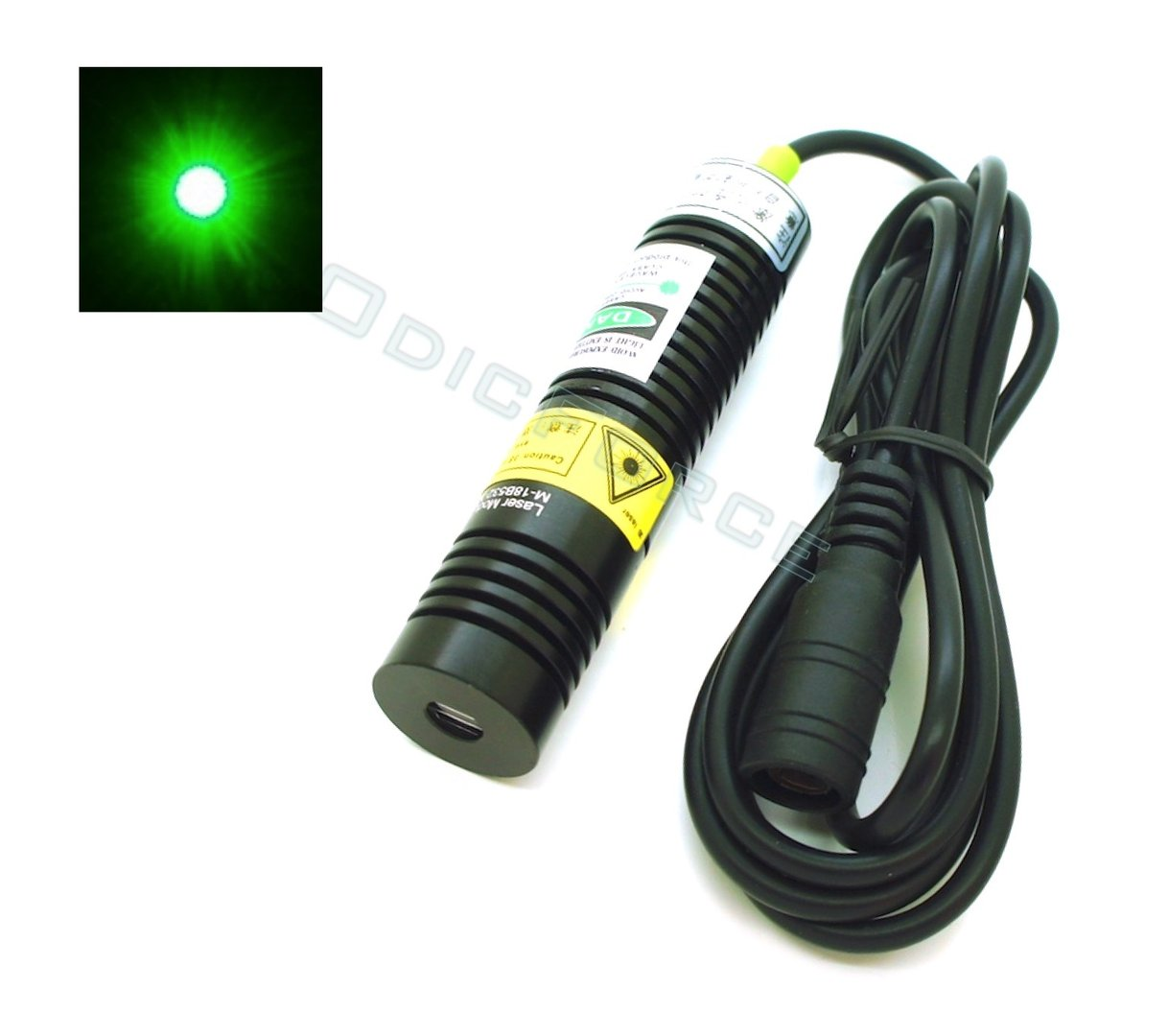 30mW Green (532nm) Laser Dot Module  (18mm) 5V