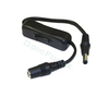 Power Switch Cable with 5.5mm x 2.1mm Plug and Socket