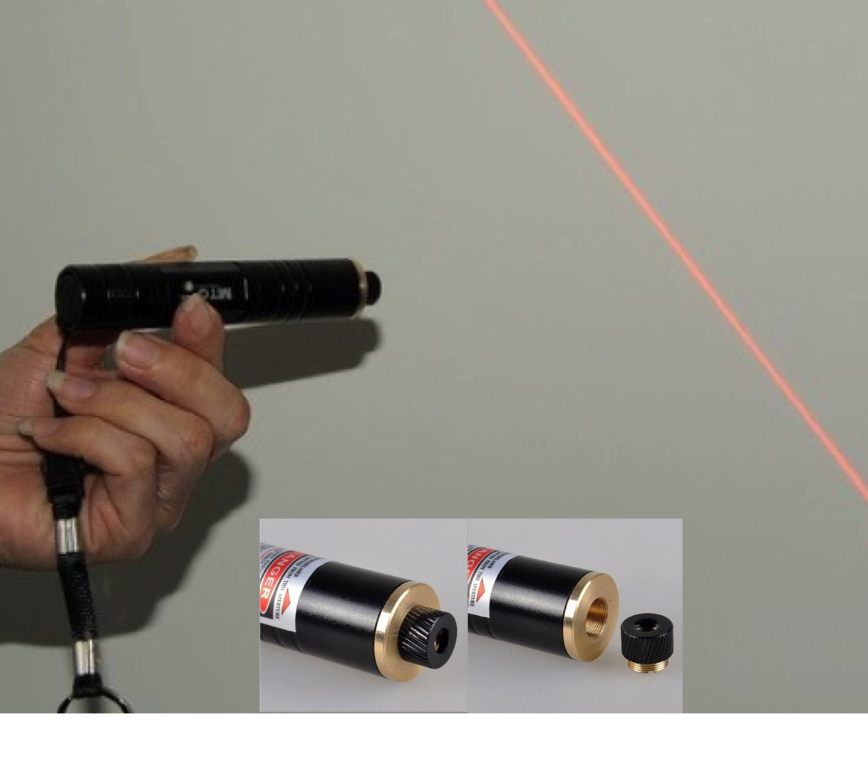 Portable Red Laser Line And Cross Projector 650nm 120mw