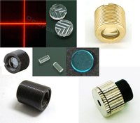 Optical Components:  Collimating Lenses, Line Generators, Filters etc.