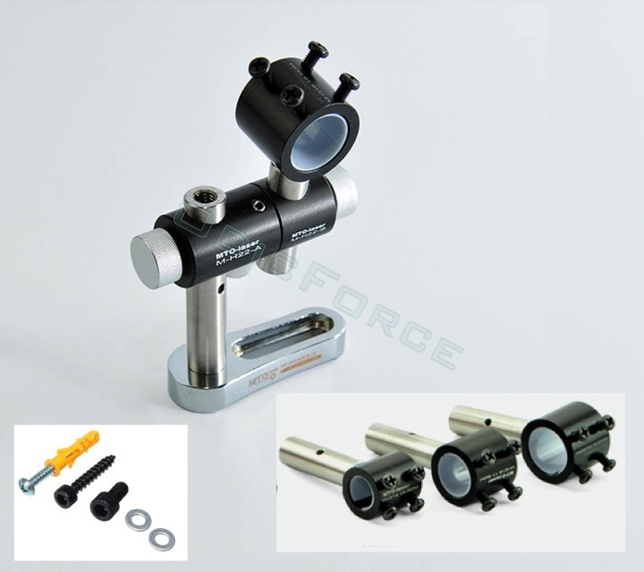 Adjustable Mounts for 12mm, 14mm, 16mm, 18mm and 22mm Laser Modules
