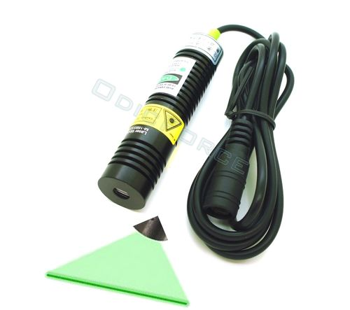 10mW Green (532nm) Laser Line Generator Module  (18mm) 5V DISCONTINUED