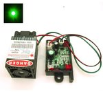 50-80mW  532nm Green Laser Module with TTL and Fan (12V) (G50)