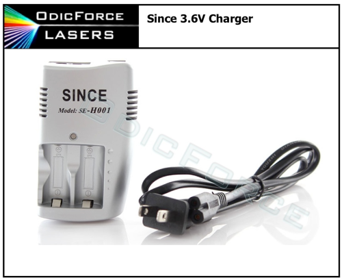 Since 3.6/3.7V CR123A / 16340 Battery Charger (H001)