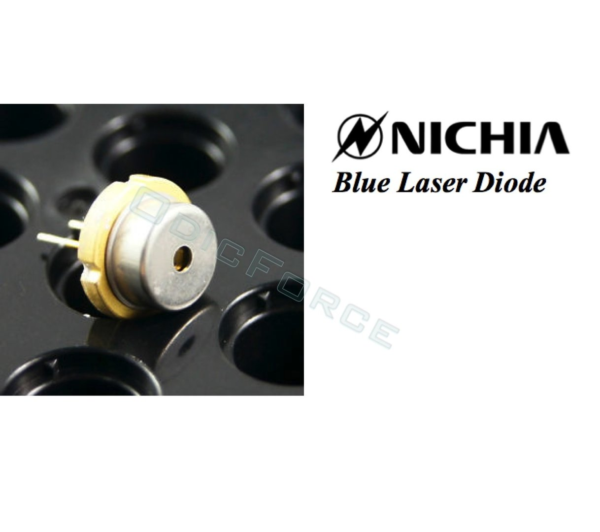 Nichia 1.6W+ 450nm Blue Laser Diode (9mm) NDB7875 (New, original part)