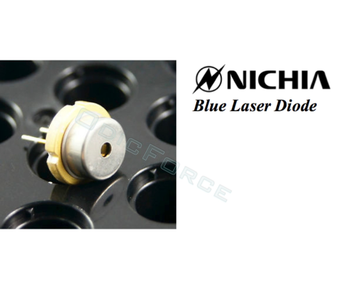 Nichia 3.5W-5W 450nm Blue Laser Diode (9mm) NDB7A75 (New, Tin Pin)