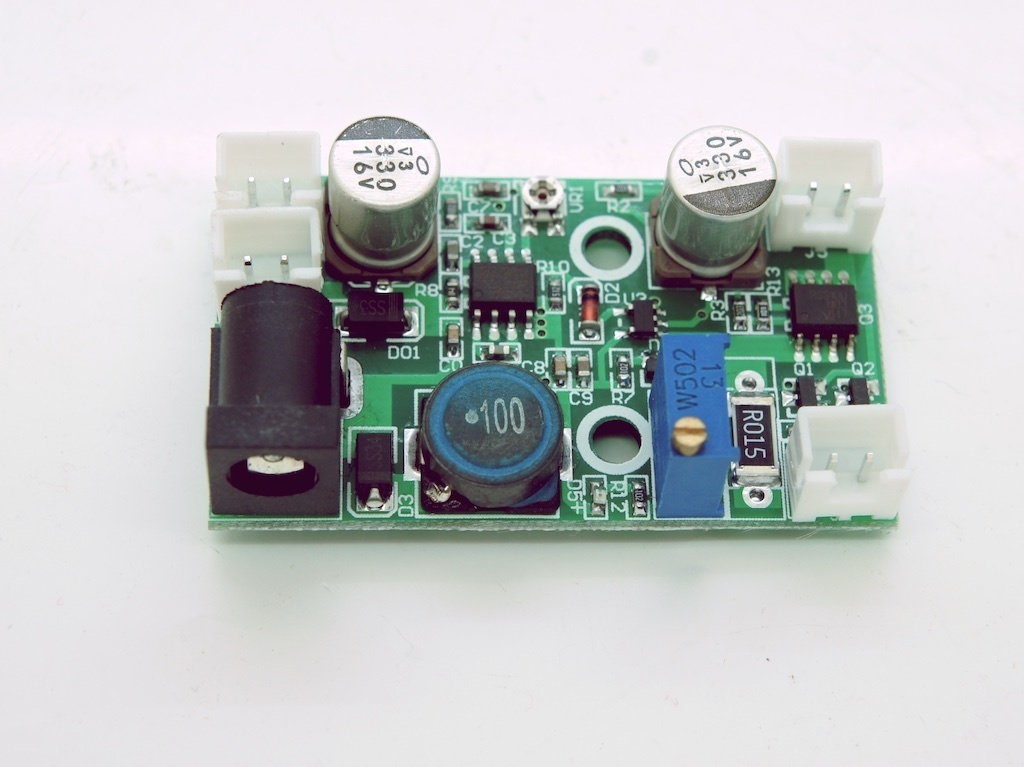 0 - 2.5A Laser Diode Driver for 405, 450, 520, 635 and 660nm Diodes TTL Modulation, 12V (V2)