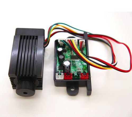 150mW Focusing 532nm Green Laser Module withThermoelectric Cooling and TTL Modulated 12V Driver