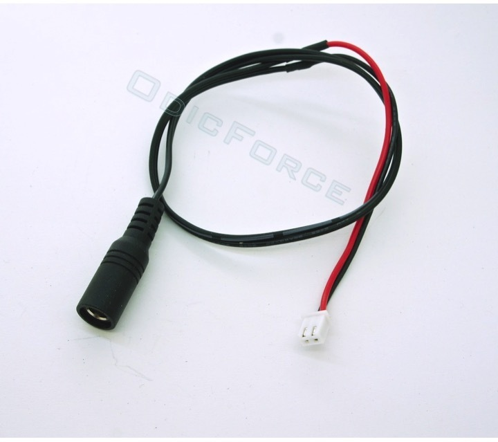 Power Cable JST-XH Driver Board to 5.5 x 2.1mm Socket 400mm