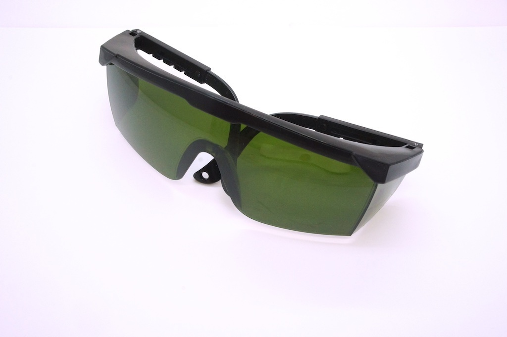 Economic Laser Viewing Goggles 405nm and 450nm Blue-violet Lasers up to 500mW