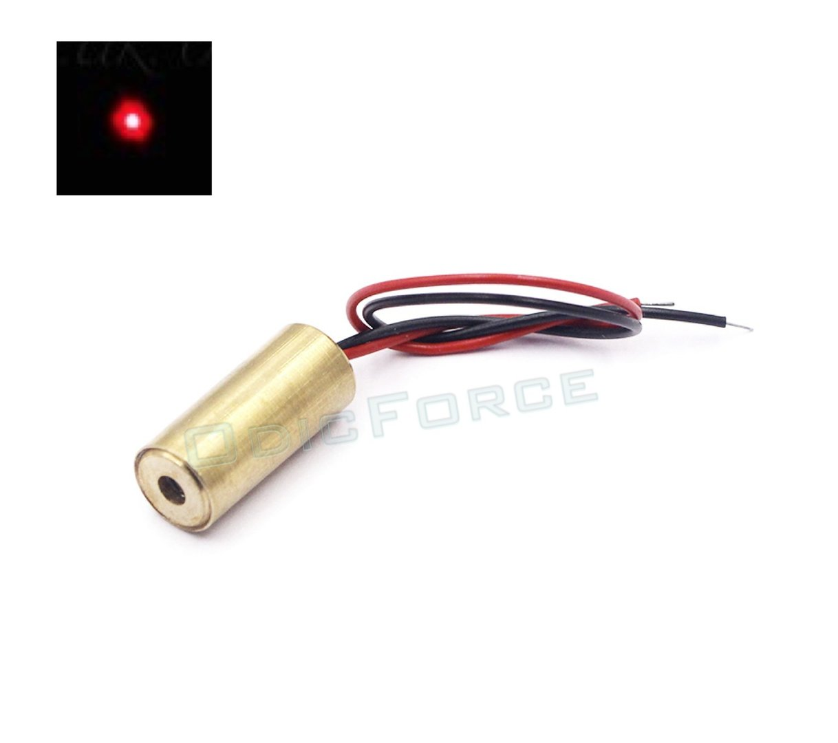 15-20mW  Red (650nm) Laser Module (9mm) 3V Class 3B