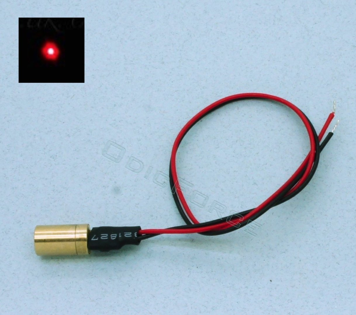 3mW Red (635nm) Miniature Focusing Dot Laser Module (6.0mm) Class 3R
