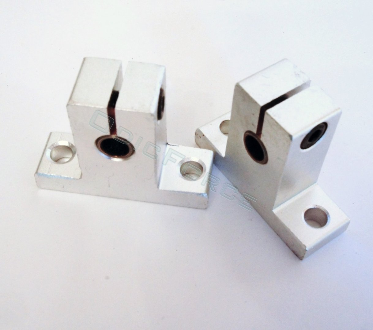 Alloy Module Holder with Insert for 6mm Modules