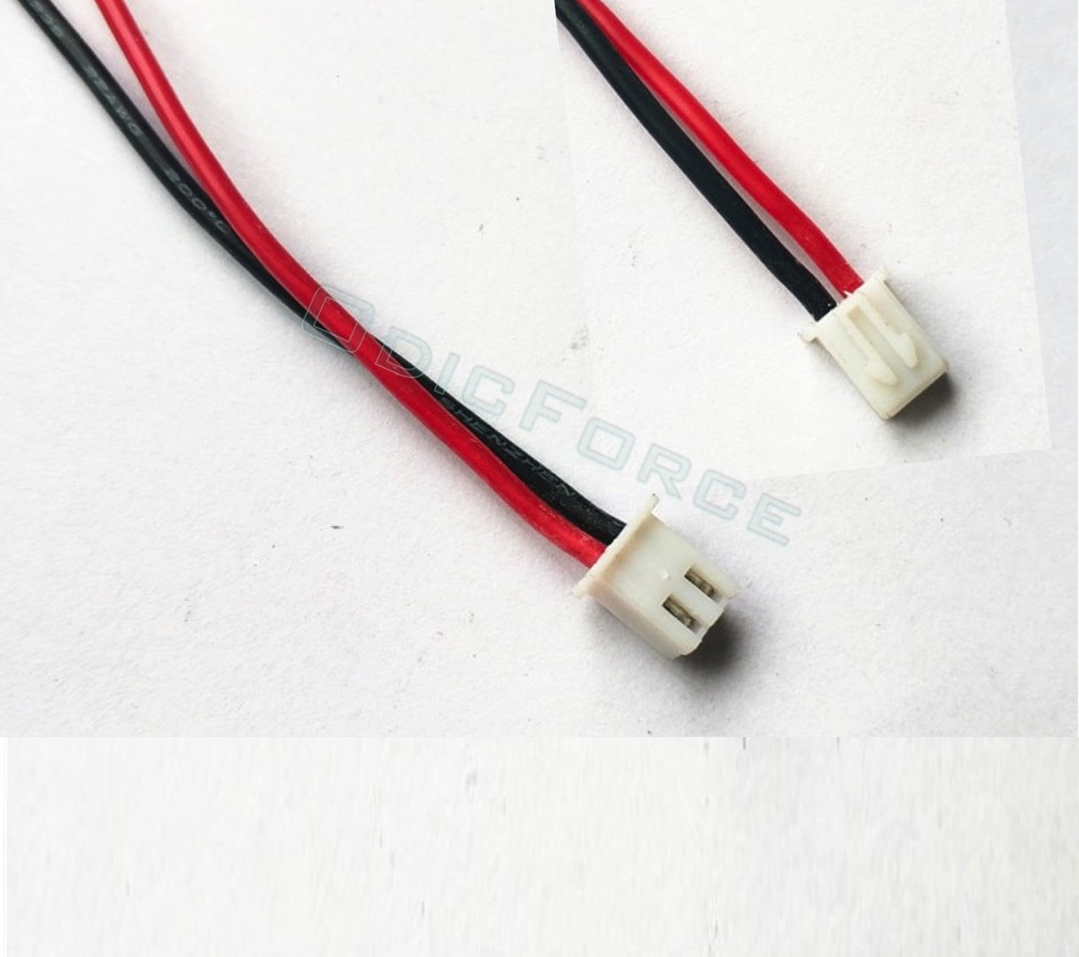 JST-XH Connector Cable 20cm 22awg Silicone