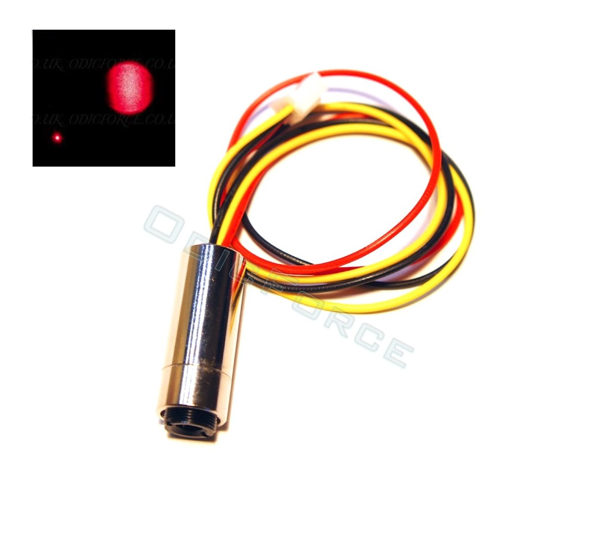30mW Focusing Red (650nm) Laser Module (12mm) with TTL Driver Class 3R